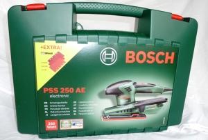 Bosch PSS 250 AE Schwingschleifer Test (2)