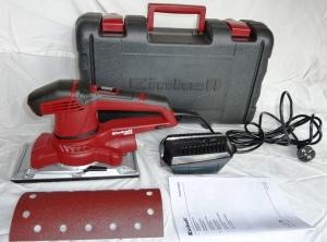 Einhell TE-OS 2520 E Schwingschleifer Test (6)