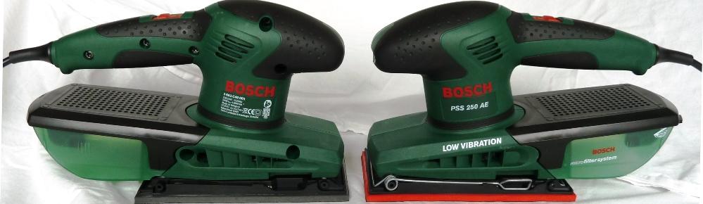 Bosch PSS 200 A und 250 AE im Test und Vergleich